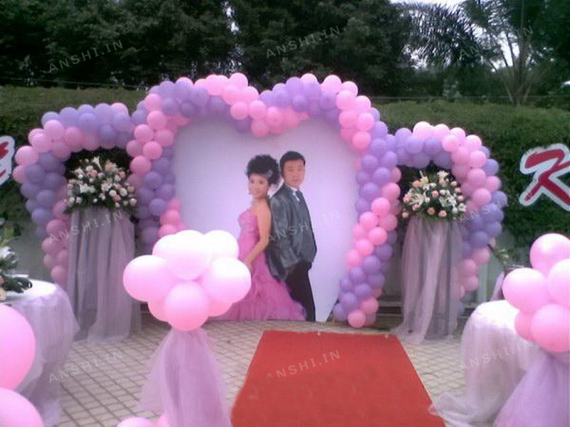 Balloon decorations for wedding images wedding decoration ideas wedding balloon decorations pictures gallery wedding decoration ideas junglespirit Images