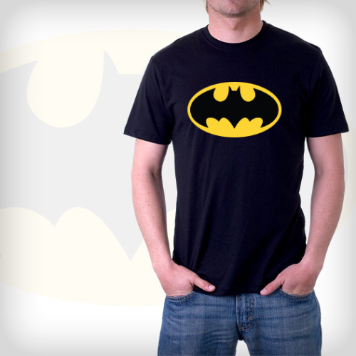 Our Batman t-shirts feature the various, fear-inducing, and occasionally very bright Batman symbols adorning the forever-fueled-by-trauma Dark Knight.