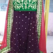 Formal Sharara with Short Top and Stole