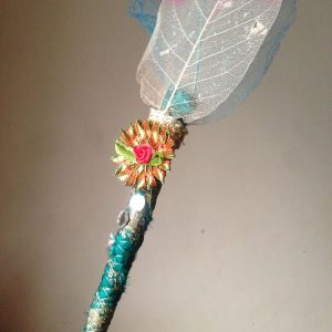Nikah Pen Made with Kalabattu & Artificial Leaf