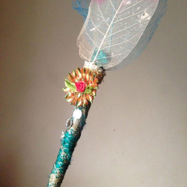 Nikah Pen Made with Kalabattu & Artificial Leaf