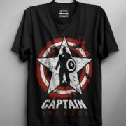 Captain America Lone Warrior T-Shirts